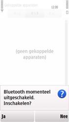 Nokia 5230 - Bluetooth - headset, carkit verbinding - Stap 7
