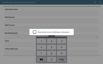 Samsung T535 Galaxy Tab 4 10-1 - E-mail - Account instellen (IMAP met SMTP-verificatie) - Stap 11