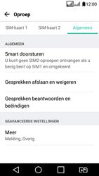 LG K4 (2017) (LG-M160) - Voicemail - Handmatig instellen - Stap 5
