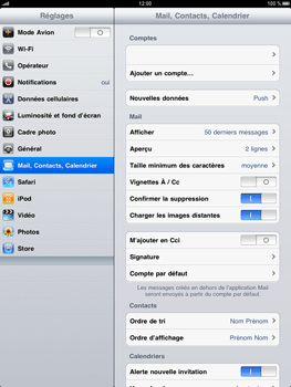 Apple iPad - E-mail - Configuration manuelle - Étape 9