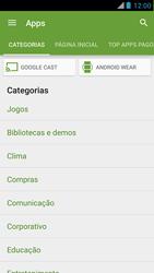 Motorola XT910 RAZR - Aplicativos - Como baixar aplicativos - Etapa 6
