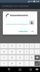 Sony Xperia XA1 (G3121) - Voicemail - Handmatig instellen - Stap 9