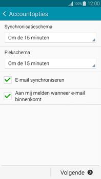 Samsung N910F Galaxy Note 4 - E-mail - handmatig instellen - Stap 16