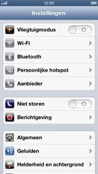 Apple iPhone 5 - Netwerk - Wijzig netwerkmodus - Stap 3