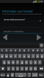 Samsung I9505 Galaxy S IV LTE - Applicaties - Account aanmaken - Stap 15
