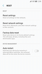 Samsung G930 Galaxy S7 - Android Nougat - Device - Reset to factory settings - Step 7