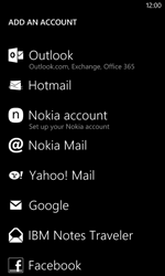 Nokia Lumia 625 - Email - Manual configuration - Step 6