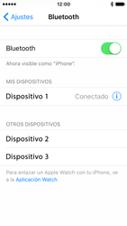 Apple iPhone SE - Bluetooth - Conectar dispositivos a través de Bluetooth - Paso 7