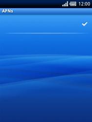 Sony Ericsson Xperia X10 Mini - Internet - Manual configuration - Step 13