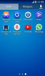 Samsung Galaxy Grand Neo - Aplicações - Como configurar o WhatsApp -  4