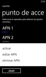 Nokia Lumia 520 - Internet - Configurar Internet - Paso 17