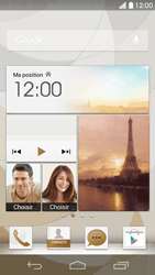 Huawei Ascend P6 LTE - E-mail - Configuration manuelle (outlook) - Étape 1