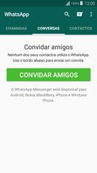 Samsung Galaxy Grand Prime - Aplicações - Como configurar o WhatsApp -  11