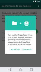 LG G5 - Aplicações - Como configurar o WhatsApp -  6