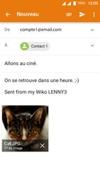 Wiko Lenny 3 - E-mail - Envoi d