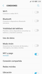 Samsung Galaxy S7 - Android Nougat - Funciones básicas - Activar o desactivar el modo avión - Paso 5