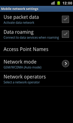 Samsung I9100 Galaxy S II - Internet - Enable or disable - Step 6