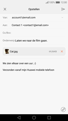 Huawei Nova - E-mail - e-mail versturen - Stap 15