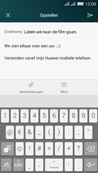 Huawei Y635 Dual SIM - E-mail - E-mails verzenden - Stap 11