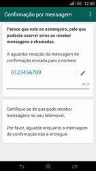Sony Xperia E4 - Aplicações - Como configurar o WhatsApp -  8