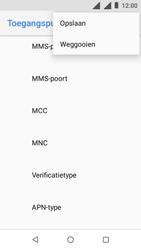 Nokia 1 - Internet - handmatig instellen - Stap 19