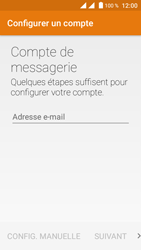 Crosscall Trekker M1 Core - E-mail - Configuration manuelle - Étape 6