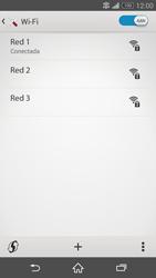 Sony Xperia Z3 - WiFi - Conectarse a una red WiFi - Paso 8