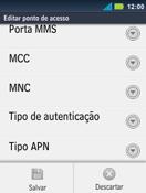 Motorola Master XT605 - Internet (APN) - Como configurar a internet do seu aparelho (APN Nextel) - Etapa 15