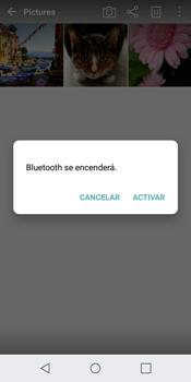 LG Q6 - Bluetooth - Transferir archivos a través de Bluetooth - Paso 10