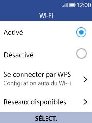 Nokia 8110 Banana - Wi-Fi - Se connecter à un réseau Wi-Fi - Étape 6