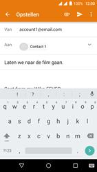 Wiko Fever 4G - E-mail - hoe te versturen - Stap 7