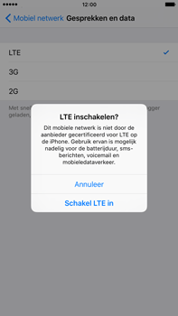 Apple iPhone 6 Plus iOS 9 - Netwerk - 4G/LTE inschakelen - Stap 6