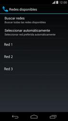 Motorola Moto X (2ª Gen) - Red - Seleccionar una red - Paso 8