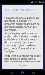 Sony Xperia E1 - Primeiros passos - Como ligar o telemóvel pela primeira vez -  11