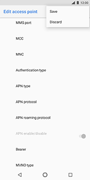 Nokia 7 Plus - MMS - Manual configuration - Step 15