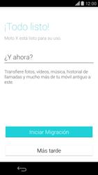 Motorola Moto X (2ª Gen) - Primeros pasos - Activar el equipo - Paso 9