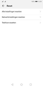 Huawei Mate 10 Pro Dual-SIM (Model BLA-L29) - Android Pie - Resetten - Fabrieksinstellingen terugzetten - Stap 5