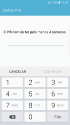 Samsung Galaxy S7 Edge - Segurança - Como ativar o código de bloqueio do ecrã -  7