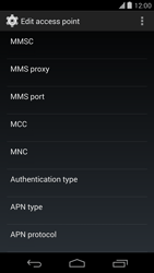 Google Nexus 5 - Mms - Manual configuration - Step 12