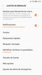 Samsung Galaxy S7 - Android Nougat - Mensajería - Configurar el equipo para mensajes de texto - Paso 6