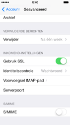 Apple iPhone 5 iOS 8 - E-mail - Account instellen (IMAP met SMTP-verificatie) - Stap 25