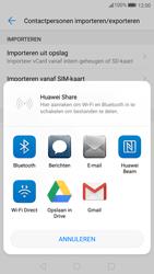 Huawei P10 - Contactgegevens overzetten - delen via Bluetooth - Stap 8