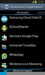 Samsung Galaxy S2 - Applications - Supprimer une application - Étape 5