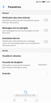 Huawei Mate 10 Pro - SMS - configuration manuelle - Étape 5