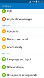 Samsung G530FZ Galaxy Grand Prime - Device - Reset to factory settings - Step 5