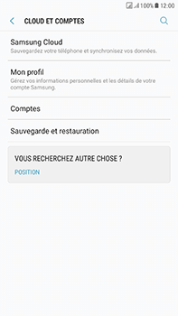 Samsung Galaxy J7 (2017) - Device maintenance - Back up - Étape 7