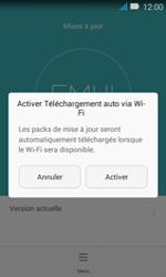 Huawei Y3 - Réseau - Installation de mises à jour - Étape 6