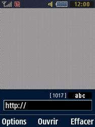 Samsung Solid 271 - Internet et connexion - Naviguer sur internet - Étape 6