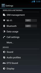 Acer Liquid E2 - Internet - Manual configuration - Step 4