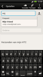 HTC S728e One X Plus - E-mail - Hoe te versturen - Stap 6